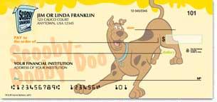 Scooby-Doo Personalized Checks