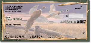 Wild Outdoors Personalized Checks