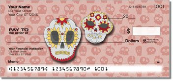 Day of the Dead Personalized Checks