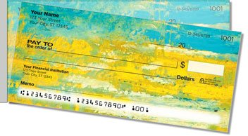 Dixon Abstract Side Tear Personalized Checks