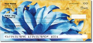Floral Series 4 Personalized Checks