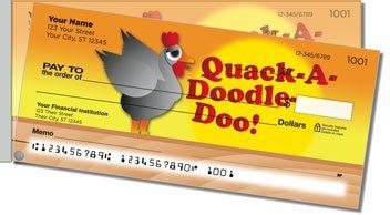 Funky Chicken Side Tear Design Checks