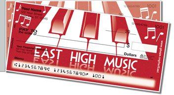 Green Bay East Music Side Tear Design Checks