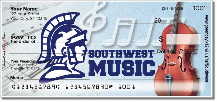 Green Bay Southwest Music Personal Checks