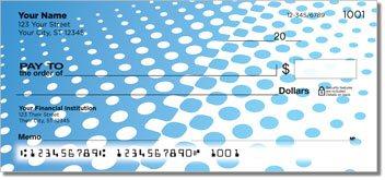 Halftone Personalized Checks