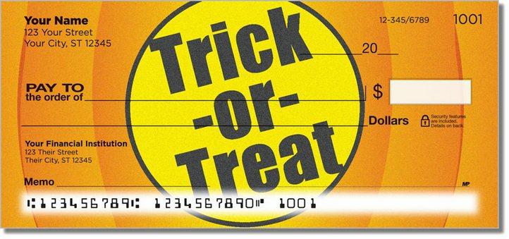 Halloween 2 Personal Checks