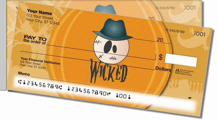 Halloween Thesaurus Side Tear Personal Checks