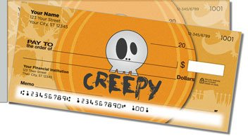 Halloween Thesaurus Side Tear Personalized Checks