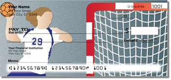Handball Personalized Checks