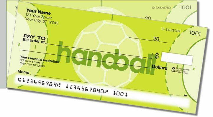 Handball Side Tear Personal Checks