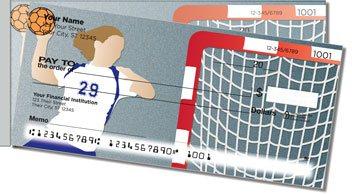 Handball Side Tear Personalized Checks
