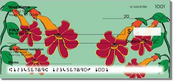 Hanging Flower Design Checks