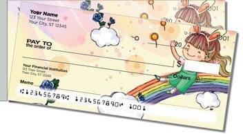 Happy Child Side Tear Personalized Checks