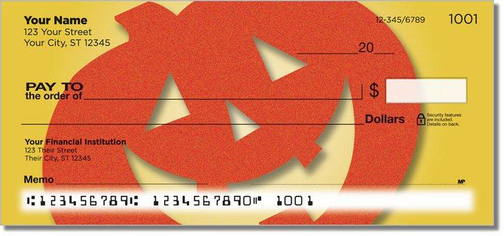 Happy Halloween Personal Checks