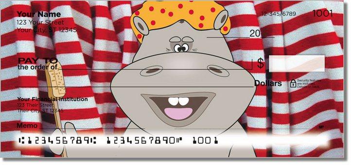 Happy Hippo Personal Checks