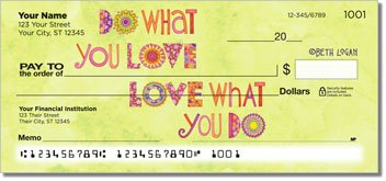 Happy Thoughts Personalized Checks