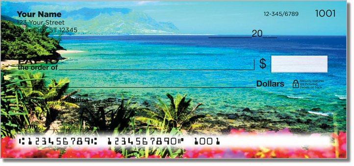 Hawaiian Landscape Personal Checks