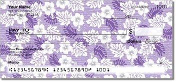 Hawaiian Print Personalized Checks
