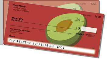 Healthy Eating Side Tear Personalized Checks