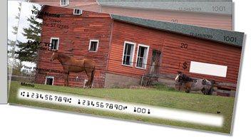 Horse Side Tear Design Checks
