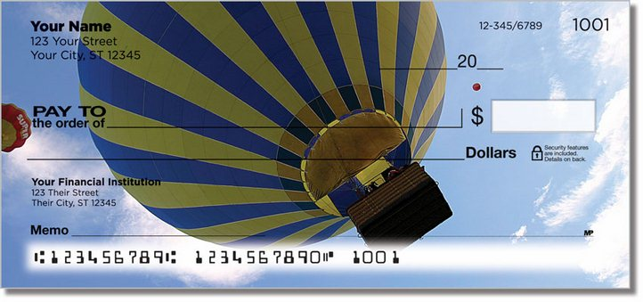 Hot Air Balloon Personal Checks