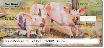 Kay Smith Pig Design Checks