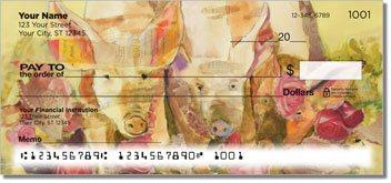 Kay Smith Pig Personalized Checks