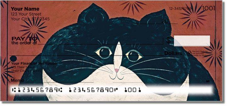 Kimble Cat Personal Checks