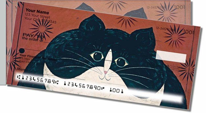Kimble Cat Side Tear Personal Checks