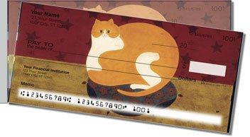 Kimble Cat Side Tear Personalized Checks