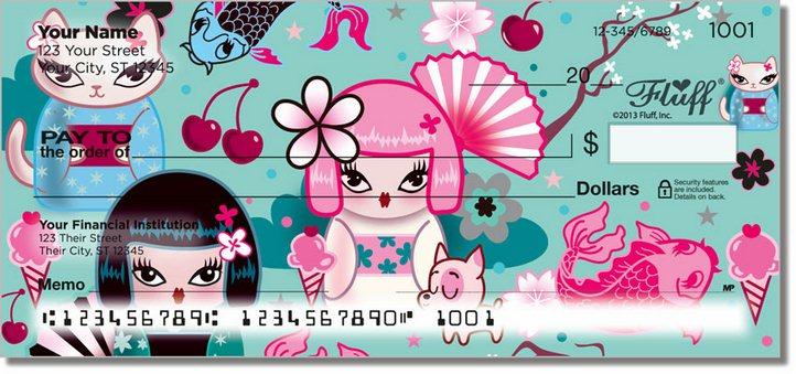Kimono Cutie Personal Checks