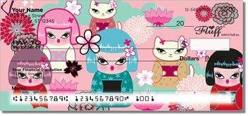 Kimono Cutie Personalized Checks