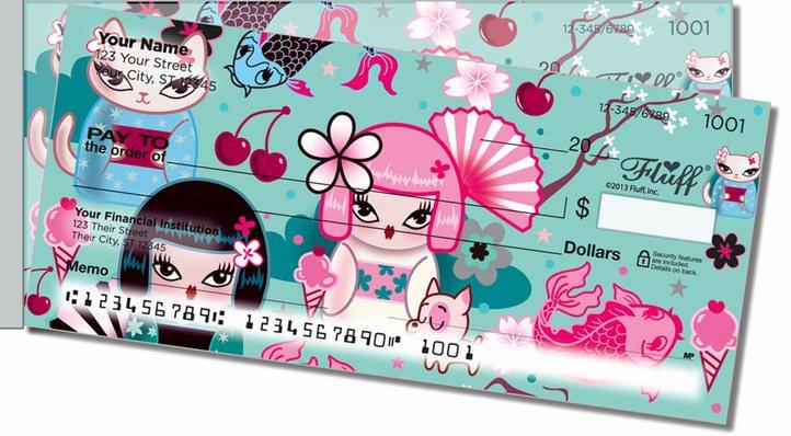 Kimono Cutie Side Tear Personal Checks