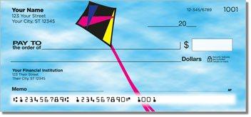 Kite Flying Personalized Checks