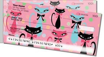 Kitty Galore Side Tear Design Checks