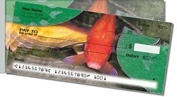 Koi Pond Side Tear Personalized Checks