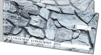 Like a Rock Side Tear Personalized Checks