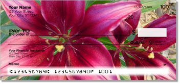 Lily Personalized Checks