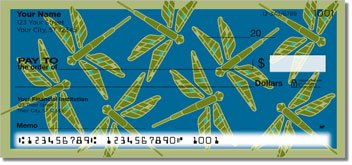 Lindgren Dragonfly Personalized Checks