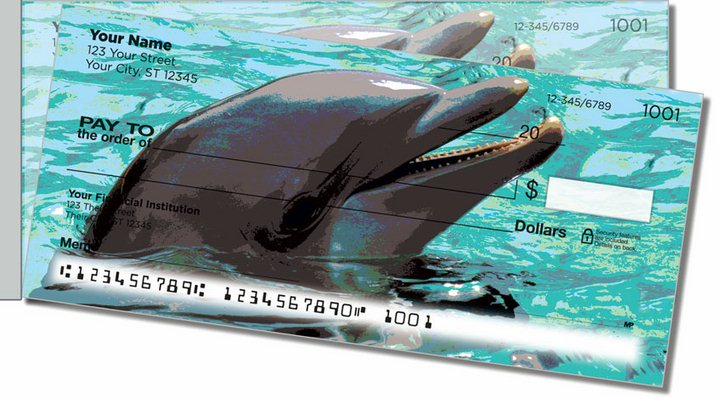 Marine Mammal Side Tear Personal Checks