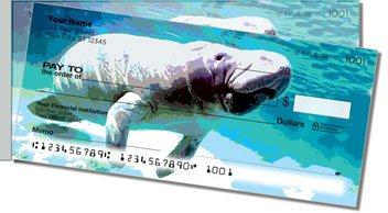 Marine Mammal Side Tear Personalized Checks