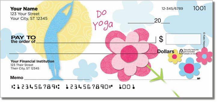 Mod Floral Personal Checks