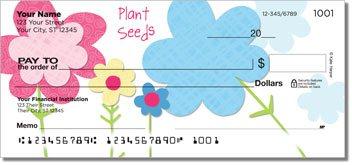 Mod Floral Personalized Checks