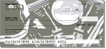 Motorcycle Personalized Checks