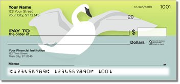 Mute Swan Personalized Checks
