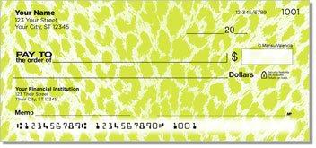 Neon Leopard Design Checks