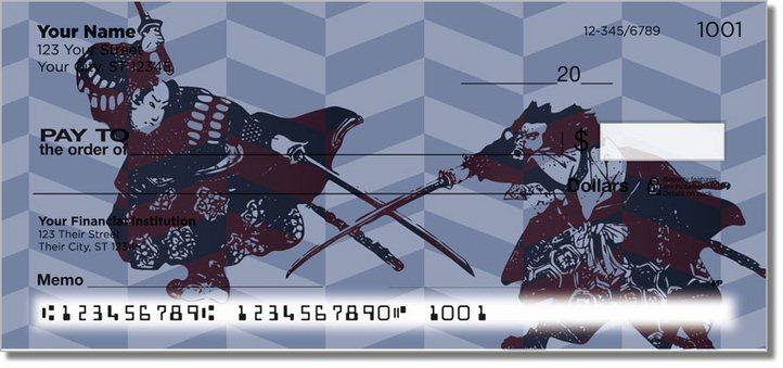 Ninja and Samurai Personal Checks