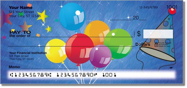 Party Balloon Personal Checks