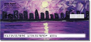 Seaside Serenade Personalized Checks