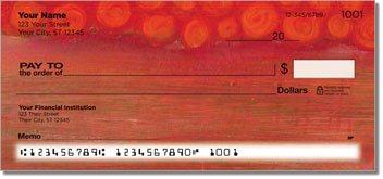 Semi Abstract Personalized Checks